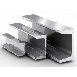 Швеллер алюминиевый