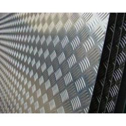 Лист алюминиевый рифленый АД0. Цена от 136 грн./кг